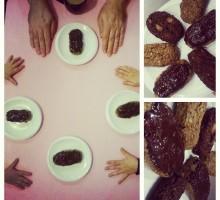 Batony czekoladowo-migdałowo-kokosowe