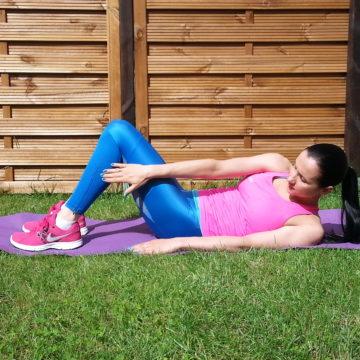 Wzmacniamy mięśnie brzucha cz. 1
