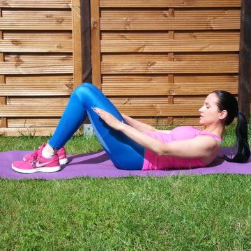 Wzmacniamy mięśnie brzucha cz.4