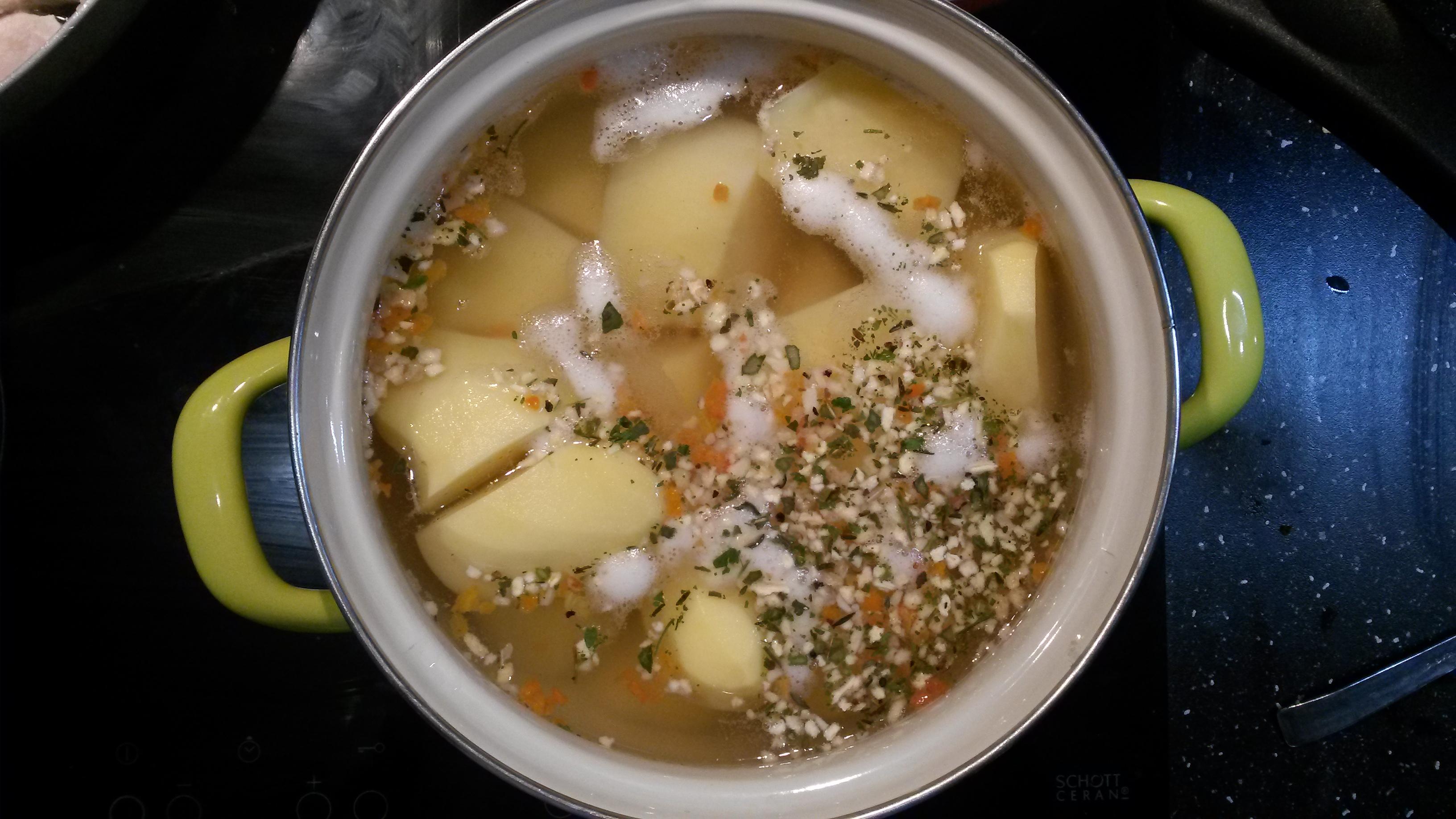 20140910 122626 Schabowy z ziemniakami w wersji light