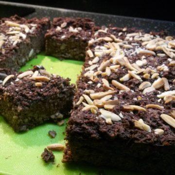 Ciasto czekoladowe z kaszy jaglanej