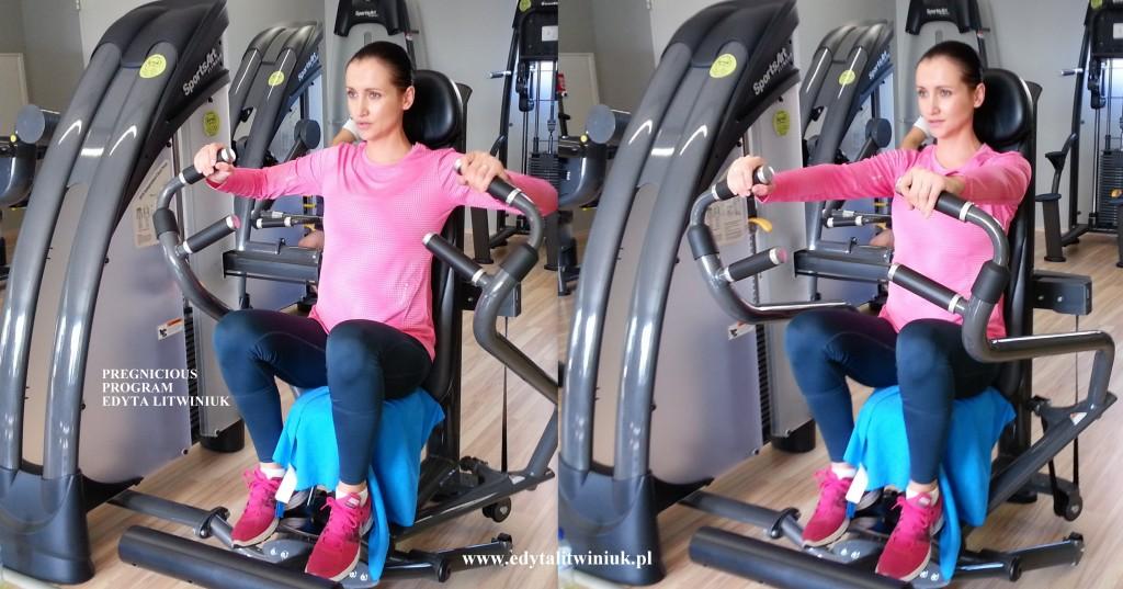 klatka piersiowa 1024x537 Ćwiczenia na siłowni dla ciężarnej
