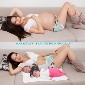 """Warsztaty """"Powrót do formy po ciąży – Pregnicious Program"""""""