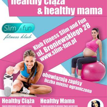 """Zajęcia fitness """"Healthy Ciąża i Healthy Mama"""""""