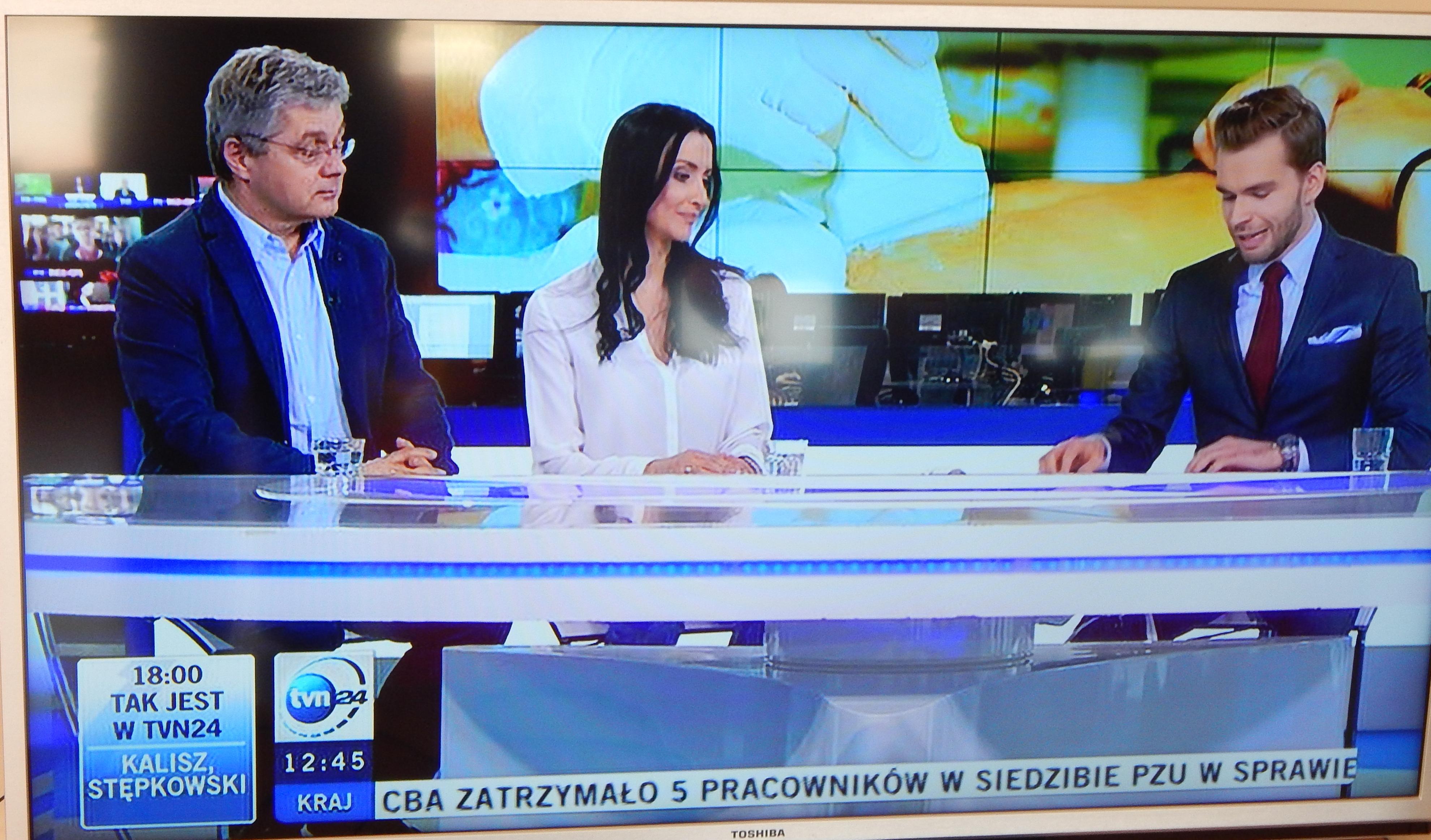 DSCN4206 W roli eksperta w tvn24!