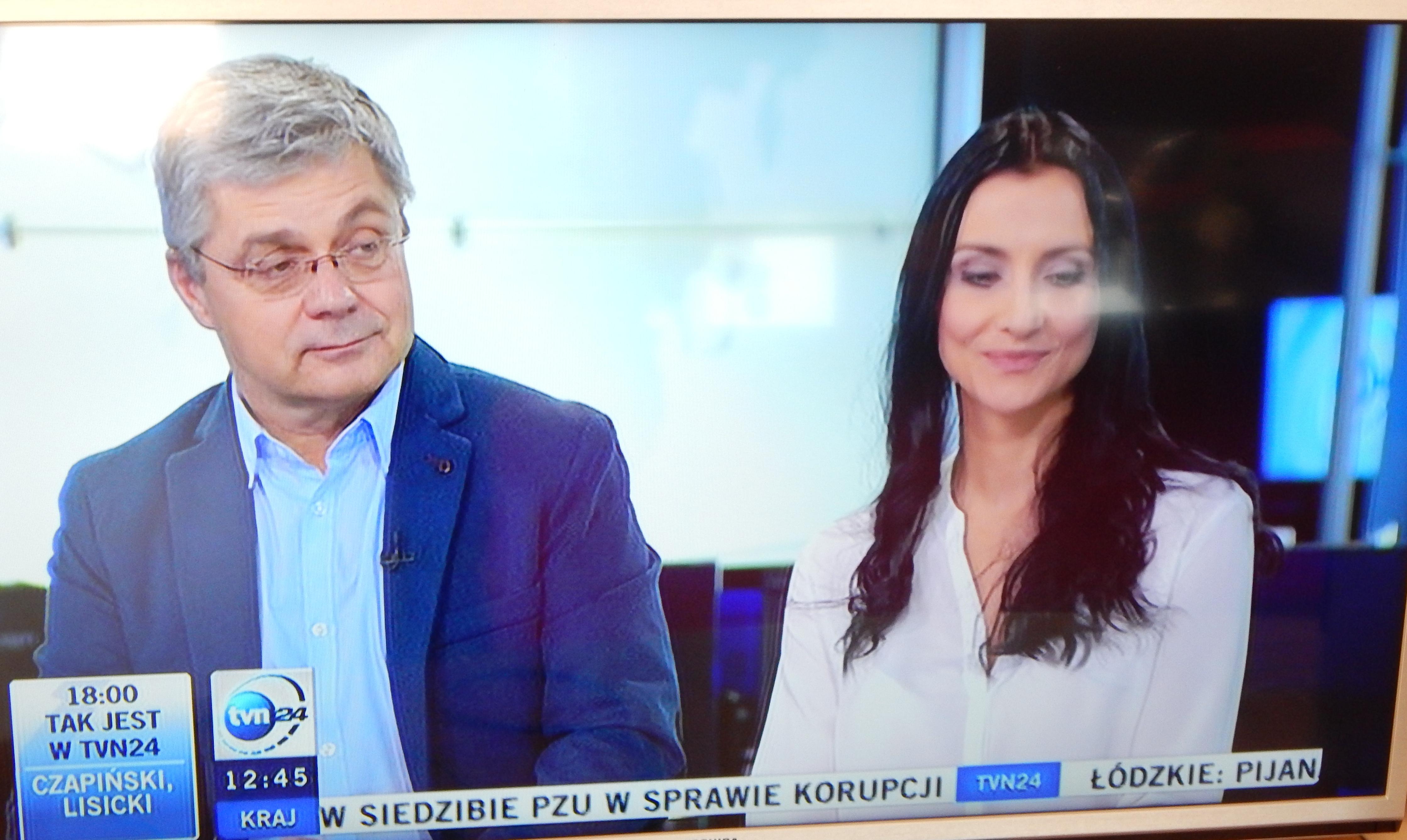 DSCN4207 W roli eksperta w tvn24!