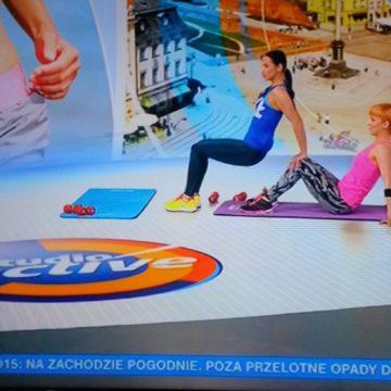 Kolejny trening w TVN Meteo Active!