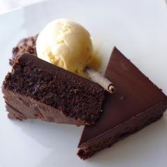 Brownie czekoladowo – fasolowe