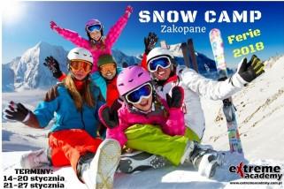 Obóz narciarsko – snowboardowy 2018 r.