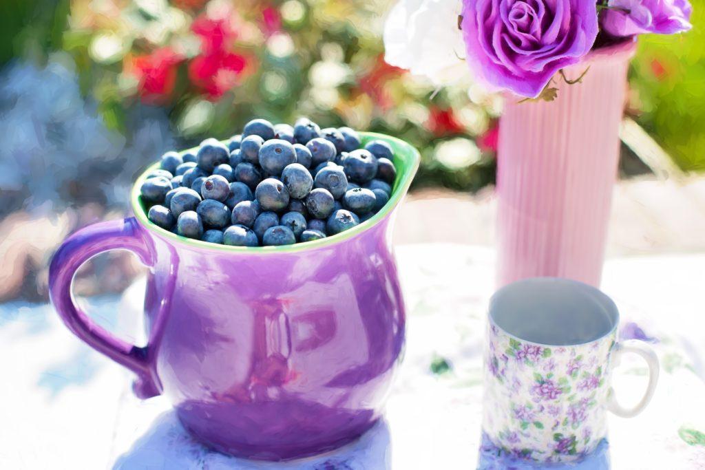 blueberries 864628 1024x683 8 TOP przepisów na POWER śniadania