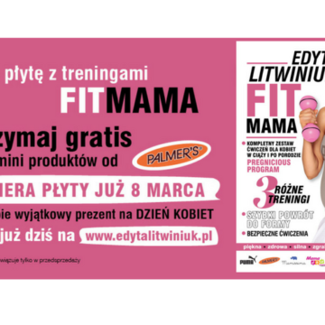 """Moja płyta DVD """"FIT MAMA"""" dla kobiet w ciąży i po porodzie"""