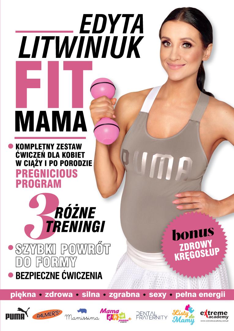 okladka plyty wybrana Moja płyta DVD FIT MAMA dla kobiet w ciąży i po porodzie