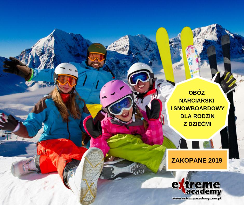 SNOW CAMPOBÓZ NARCIARSKI I SNOWBOARDOWYDLA DZIECII DOROSŁYCH 2 OBÓZ NARCIARSKI I SNOWBOARDOWY DLA RODZIN   FAMILY SNOW CAMP 2019 r.